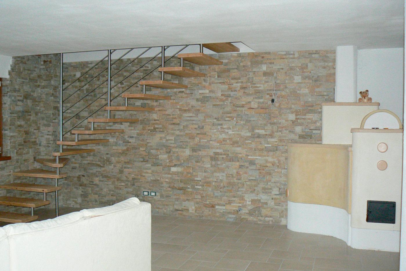 Rivestimenti in pietra e marmo per interni a Trento - Lagorai Pietre